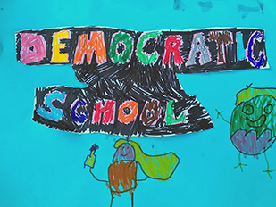 Democratic education: unschooling at school?
