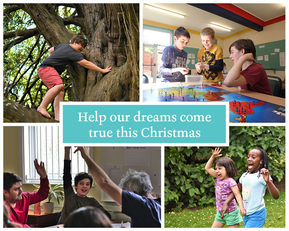 Help our dreams come true this Christmas